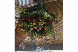 Create a Spectacular Flower Chandelier