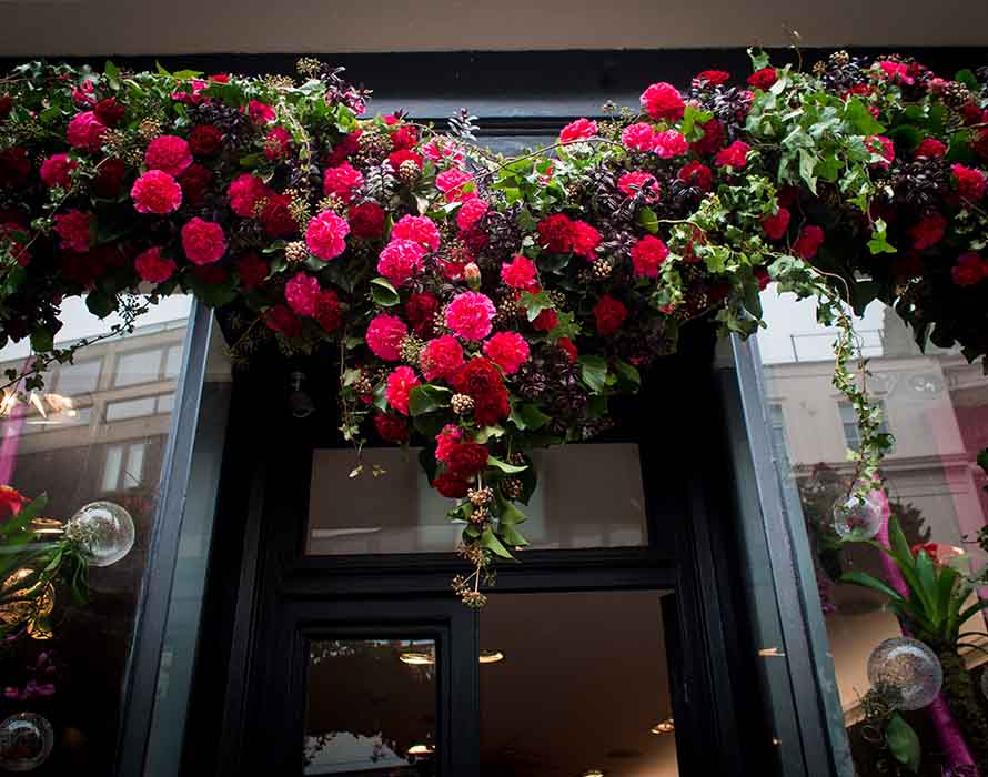 He Created Floral Doorway Art. Here's How it Became a Sensation.