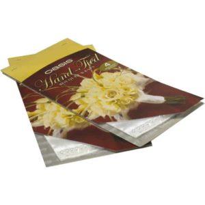 Bouquet Wrap Silk & Pearl- White