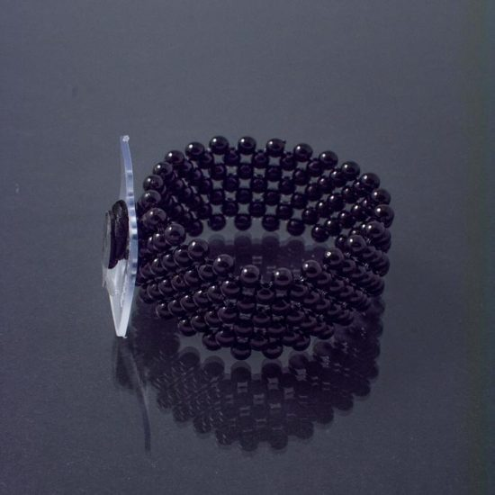 Narrow Bracelet Black