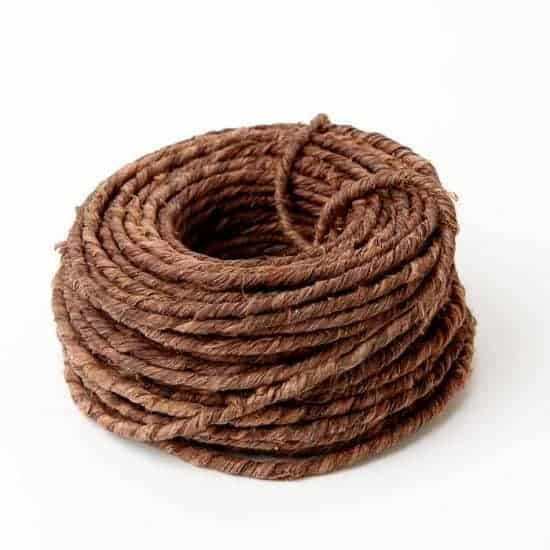 Rustic Grape Vine Wire Brown