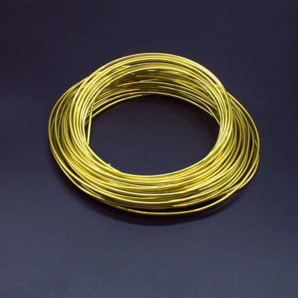 Aluminium Wire Sunny Yellow