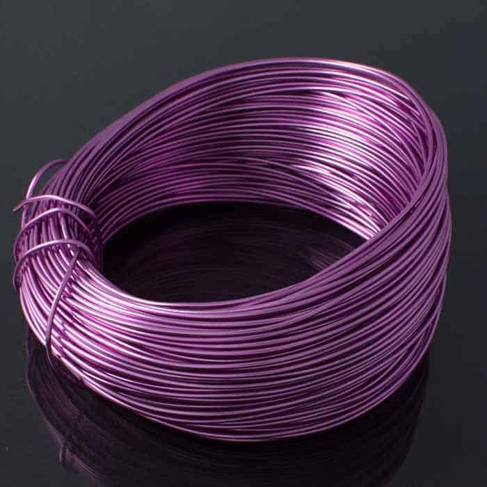 Aluminium Wire Lavender