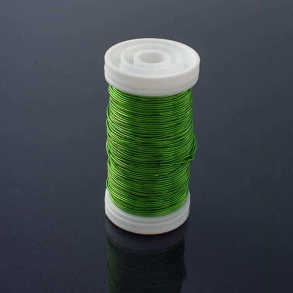 Metallic Wire Apple Green
