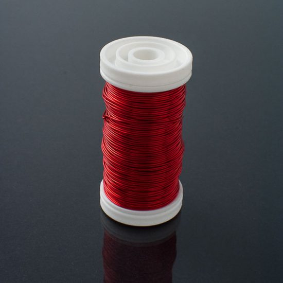 Metallic Wire Red