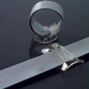 Corsage Wrap Wristlet White - 6 Wristlets