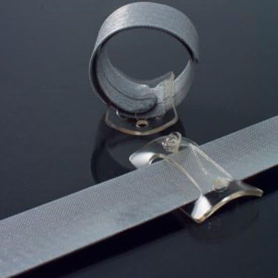 Wrap wristlet Silver