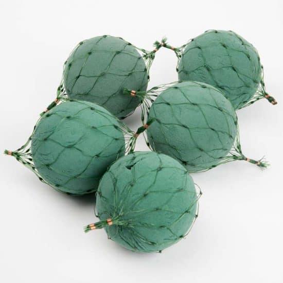 Foam Netted Spheres – 12cm