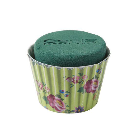 OASIS Floral Cupcakes Mint Floral 6cm X 8cm