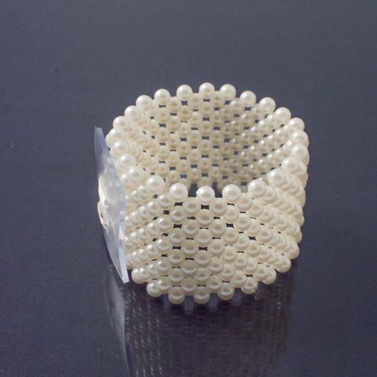 Wide Bracelet Ivory