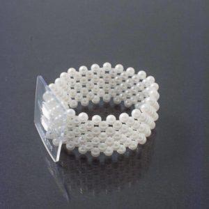 Narrow Bracelet White