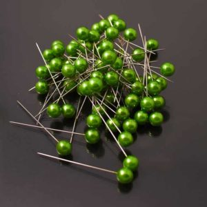 Corsage Pins - Apple Green