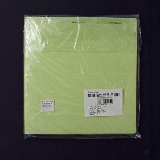 Living Card Green