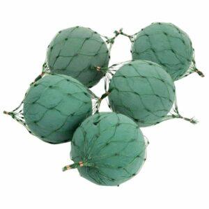 OASIS® Floral Foam Netted Spheres - 12cm