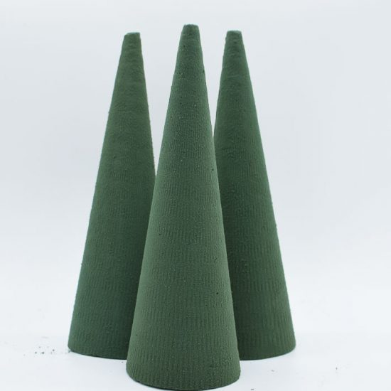 Foam Cone 24cm High 3pcs/Set