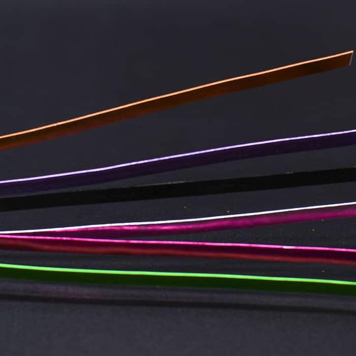 Aluminium Wire Flat- Assorted colours