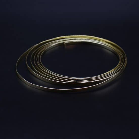 Flat Wire Gold