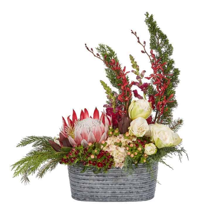 Snap Dragon Floral Centerpiece