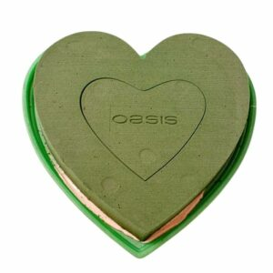OASIS® Floral Foam Full Heart 2pcs/set