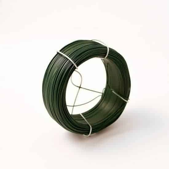 Plastic Wrap Green Wire 100m
