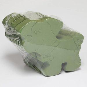 OASIS® Foam 2D Dog – Pack Quantity: 2 Pieces