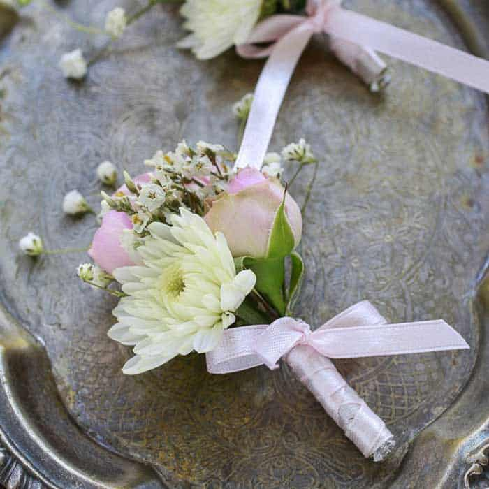 Blooming Buttonholes