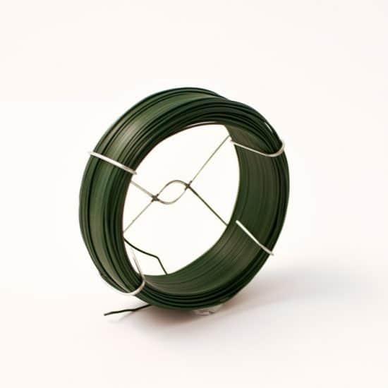 Plastic Wrap Green Wire 50m