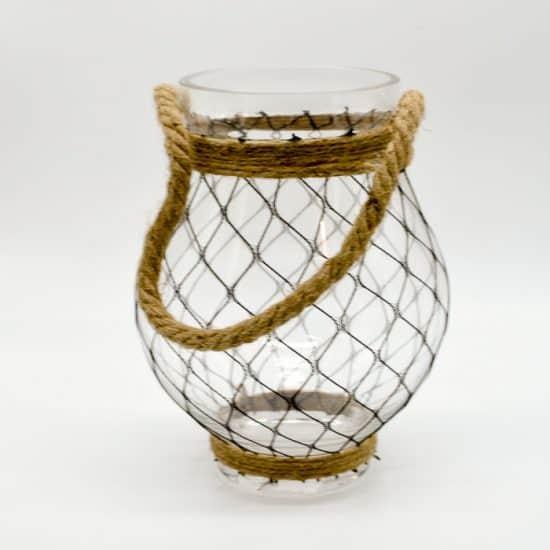 Glass Vase 21.5cm