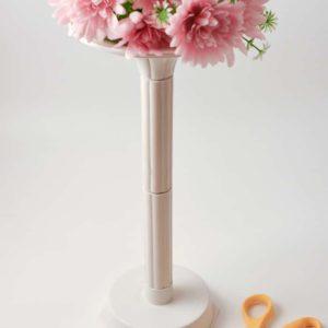 Plastic flower stand