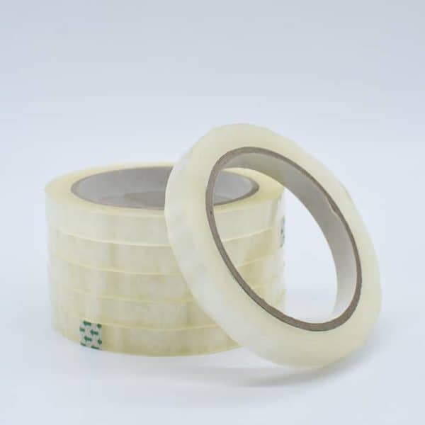 Clear Tape 10mm - 6 Rolls / Tapes & Adhesives