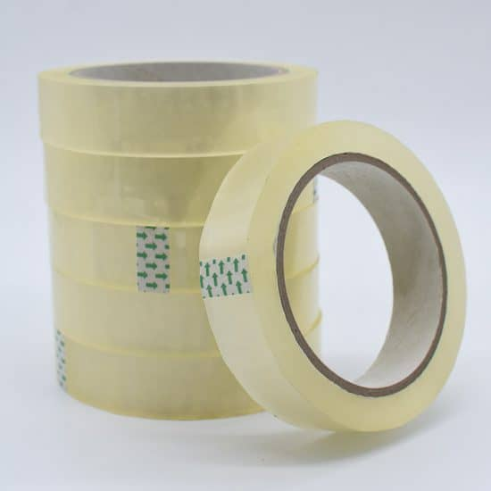 Clear Tape 24mm - 6 Rolls / Tapes & Adhesives