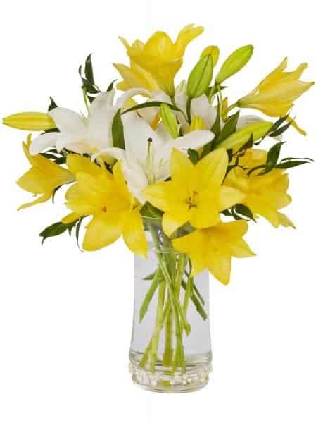 Brighten Her Day Spring Bouquet