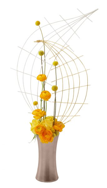 Midollino Modern Art Flower Design