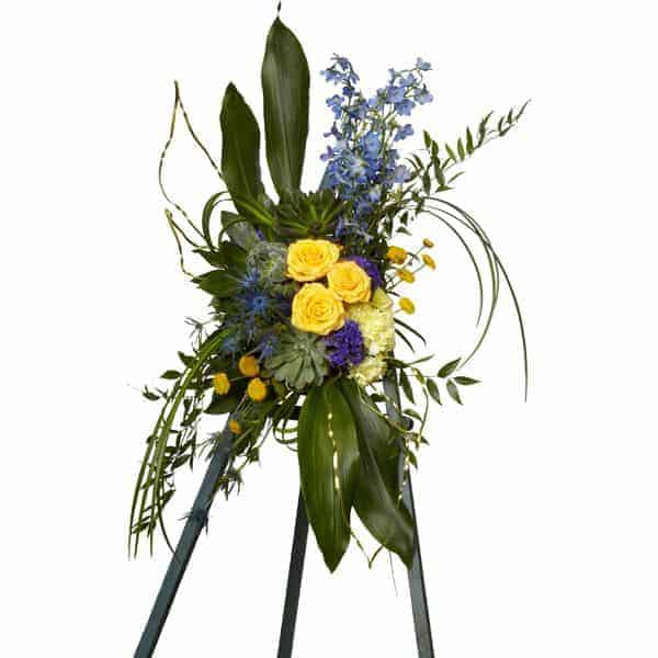 Travel Lover Sympathy Flower Arrangement