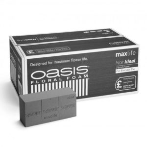 OASIS® Noir Ideal Floral Foam Maxlife Brick
