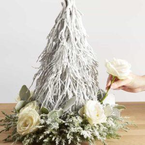 Twiggy Tree Christmas Centerpiece