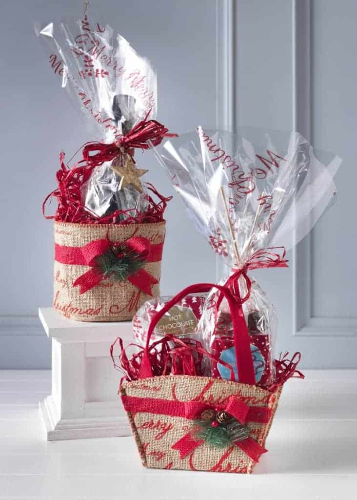 Luxury Hamper Gift Wrapping