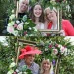 Floral Photo Booth Frame