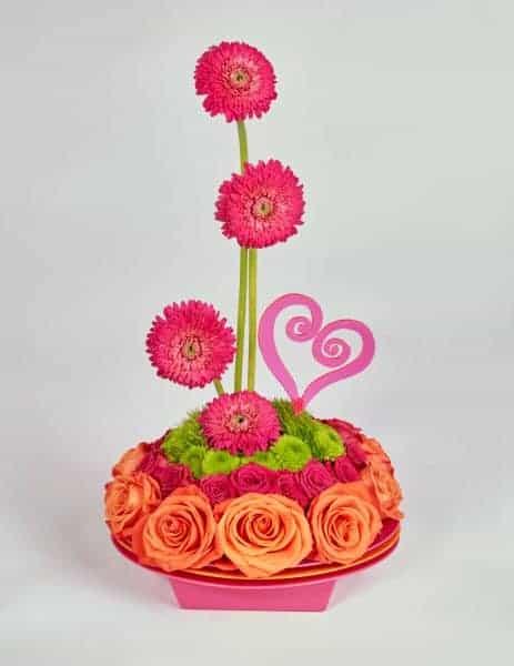 Valentine's Day Flower Support Kit