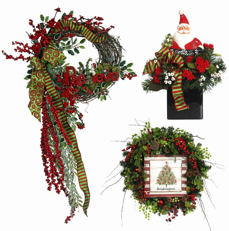 What Are The Fav 5 Holiday Floral Designs?