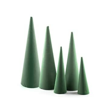 Foam Cone 40cm High 3pcs/Set