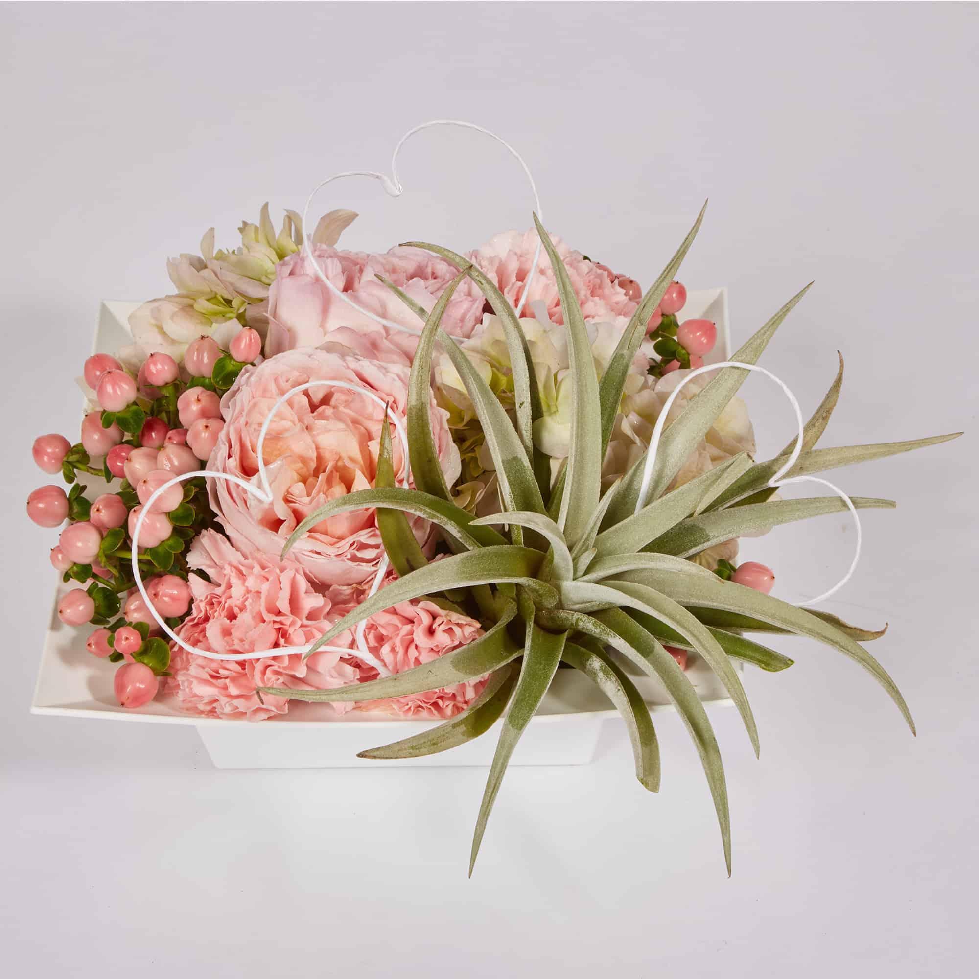 Quadruple Pink Floral Valentine