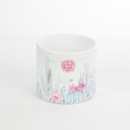 Ceramic Floral Pot