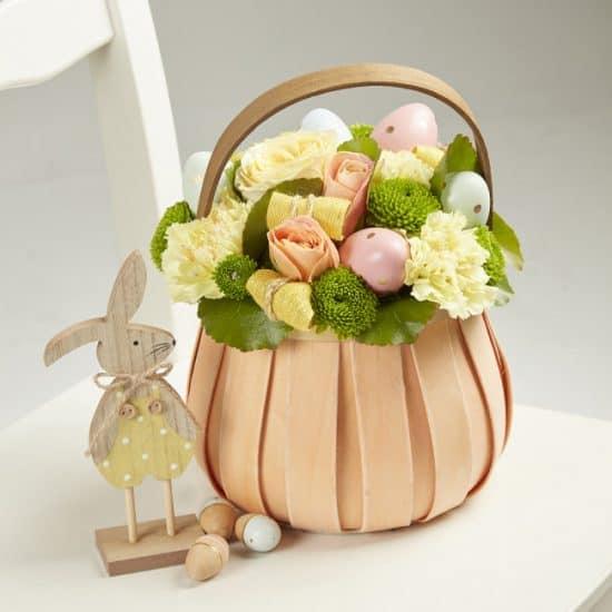 Carnival Lined Basket - 18cm