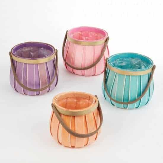 Carnival Lined Basket – 18cm
