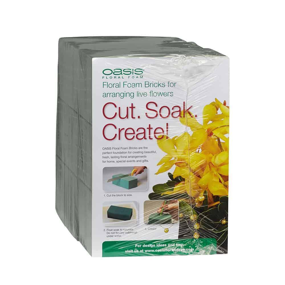 OASIS® Floral Foam Brick 6 Pack