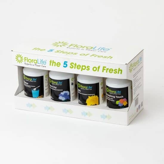 Floralife Five Steps Test Kit