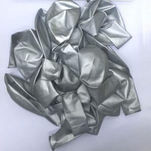 Balloons Metallic-Silver 25