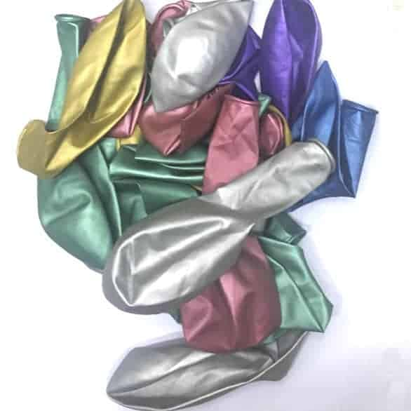 Balloons Mixed Metallic Colours