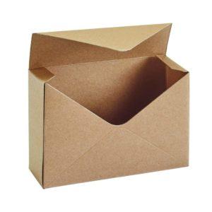 Kraft Envelope Flower Box (Pack Of 10)